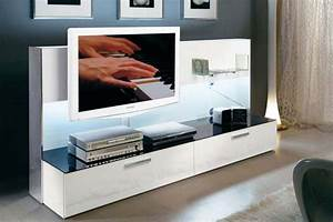 best meuble living tv moderne ideas joshkrajcikus With meuble tv sur mesure design 2 meuble tv living design moderne portes push laque