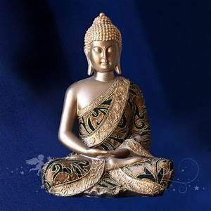 Statue De Bouddha : statuette de bouddha statue de bouddha avec style moderne achat deco ~ Teatrodelosmanantiales.com Idées de Décoration
