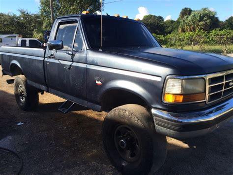 1990 FORD F 350 4×4 Dana 60 5 Speed 7.3 Diesel Monster for