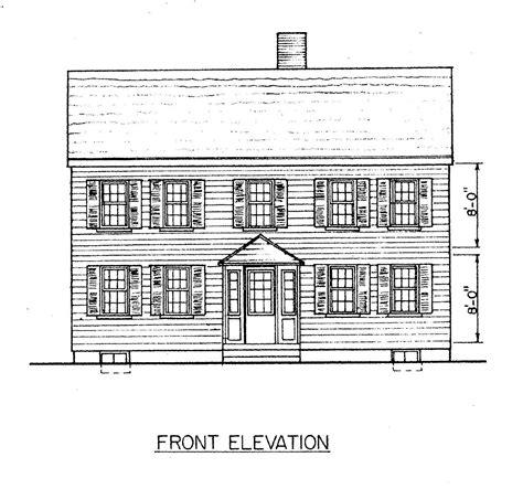 saltbox floor plans salt box home plans 171 home plans home design