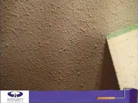 proper stipple ceiling repair  integrity painting youtube