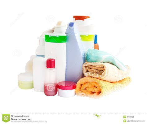 care  bathroom products royalty  stock images