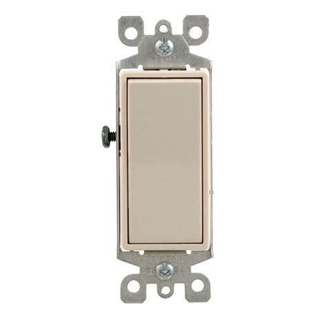Leviton Decora Amp Way Switch Light Almond