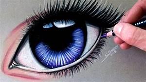 Drawing A Realistic Manga Eye