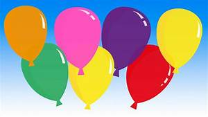 U0026quot Pretty Balloons U0026quot   Balloon Song For Learning Colors