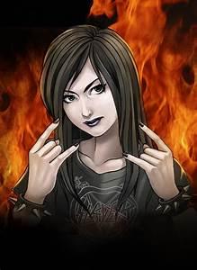 heavy metal girl by EijiSaeki on DeviantArt