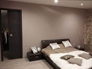 chambre deco photo deco chambre taupe et beige With deco chambre gris et taupe