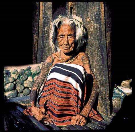 kalinga tribe female philippines tattoos david howard