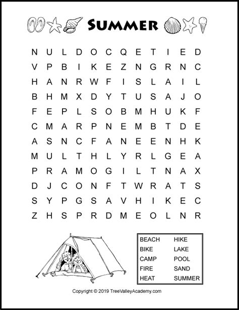 printable word search uk summer word search puzzles for kids