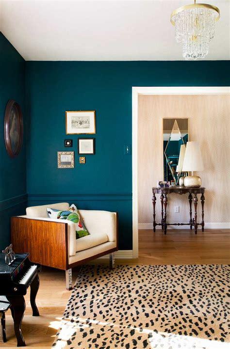 bleu canard chambre peinture bleu canard 2017 et chambre deco salon bleu
