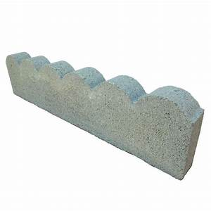 Scallop 2 ft Concrete Edging-908456 - The Home Depot