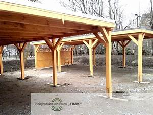 Carport Aus Holz : einfache carport aus holz holzprodukte aus polen ~ Orissabook.com Haus und Dekorationen