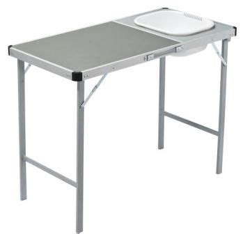 kitchen sink table new oztrail c table with sink portable kitchen cing 2931