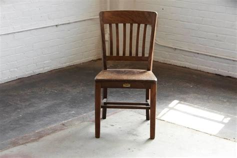 w h gunlocke chair company 1920s solid oak office chair by w h gunlocke chair co at