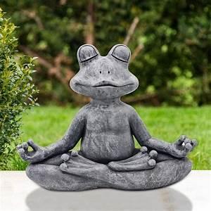 Zen, Frog, Garden, Ornament, Outdoor, Ornament, Garden, Decor
