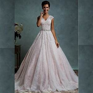 blush pink wedding dress with sleeves naf dresses With pink dresses for wedding