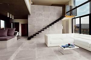 escalier terrasse et balcon exterieur en carrelage With carrelage pierre naturelle interieur