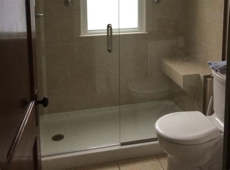 walk  shower remodel jackson plumbing
