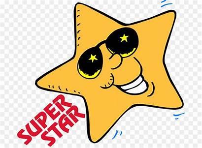 Superstar Clipart Clip Cartoon Student Stars Start