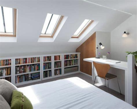 bureau sous comble meuble sous comble interieur accueil design et mobilier
