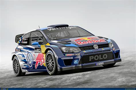 Ausmotivecom Volkswagen Unveils 2018 Polo R Wrc