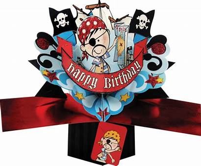 Pirate Birthday Happy Pop Nature Second Ups