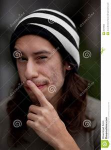 Young Mexican Man Stock Photography