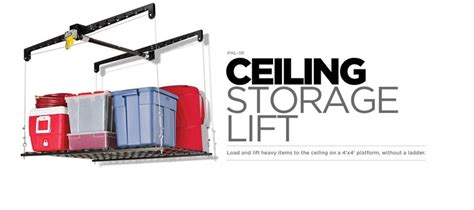 racor ceiling storage lift 17 best images about garage storage lifts specialties