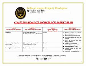 construction safety quotes quotesgram With contractor safety plan template