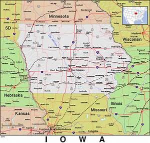 Ia  U00b7 Iowa  U00b7 Public Domain Maps By Pat  The Free  Open Source  Portable Atlas