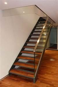 Treppe Mit Glasgeländer : o hadorn ag stahlt ren brandschutzt ren treppen balkonanbauten schaufenster winterg rten ~ Sanjose-hotels-ca.com Haus und Dekorationen