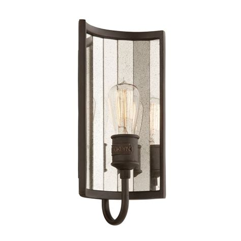 sconce wall light in bronze finish b3141