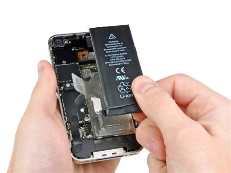 apple iphone battery replacement iphone 4 verizon battery replacement ifixit