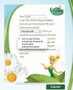 tinkerbell party ideas With tinkerbell letters