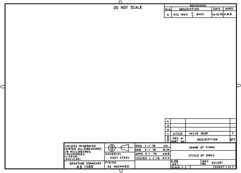 drawing sheet layout metric draftspersonnet