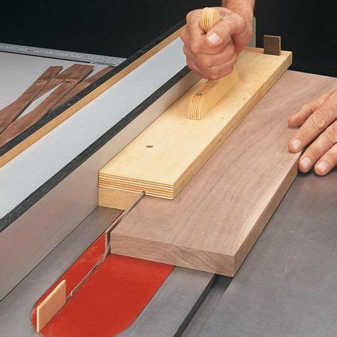 simple jig  thin strips woodsmith tips learn