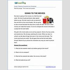 Free Printable Second Grade Reading Comprehension Worksheets  K5 Learning