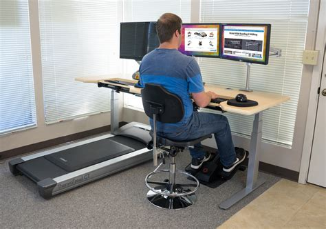 Activity Station Desk by The Modal Office Fitness Dreamstation Sit Stand