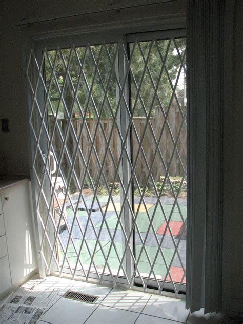 sliding security grilles canada