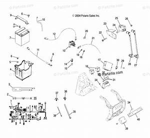 Polaris Atv 2005 Oem Parts Diagram For Electrical   As  At
