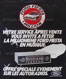 Pub Ford Fiesta : vintage ford car radios ~ Melissatoandfro.com Idées de Décoration