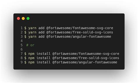This plugin works in both in the stable & the insiders build. Angular + Font Awesome in 5 Easy Steps With angular ...