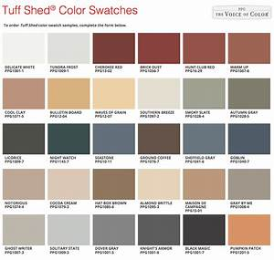 Tuff Shed Introducing Our New Paint From PPG