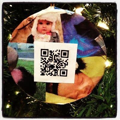 qristmas images  pinterest qr codes christmas
