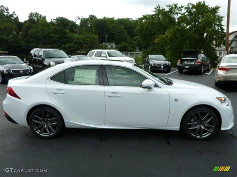 lexus white 2014 ultra white 2014 lexus is 250 f sport awd exterior photo