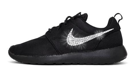 Sneaker * Nike * Glitzer * Swarovski * Schwarz * Kleopatra