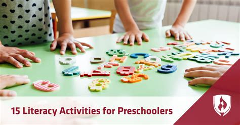 15 literacy activities for preschoolers rasmussen college 780 | 402soewe4215