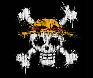 One Piece Jolly Roger T-Shirt – Straw Hat Pirates Logo