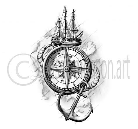 resultat de recherche dimages pour tattoo compass