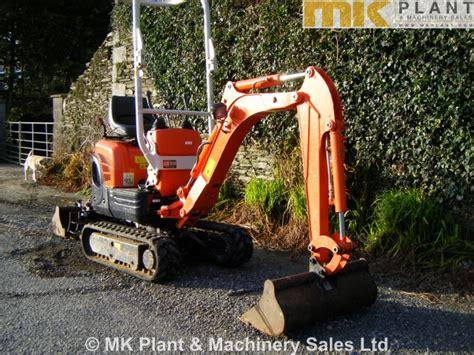 kubota kx  micro excavator mk plant